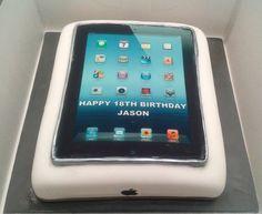 Ipad cake www.frenchvillagebakery.co.uk