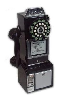 American Diner Phone, anyone remember this pay phone?