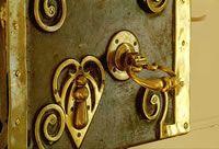 Front Door Lock, Enniscoe House