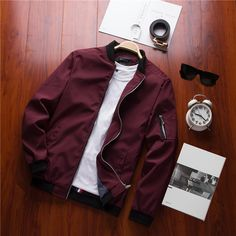 41f1e49237404 2018 New Spring Black Bomber Jacket Men Streetwear Hip Hop Slim Fit Pilot Bomber  Jacket Coat Men Jackets Plus Size hello friends
