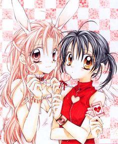 Arina Tanemura, cuando comencé a leer manga, ella fue quien me hizo enamorarme del Shojo, sus caracteristicas son particulares, esos ojos que son casi una mano, tome un cierto vicio de hacerlos grandes, hasta que por practica fueron reduciendo y tomando forma mas anatomica, pero siempre que Arina saca algo, lo miro, me trae buenos recuerdos.