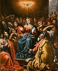 Catholic Art, Roman Catholic, Holy Spirit Prayer, Personal Prayer, Jesus Pictures, Holy Ghost, Blessed Mother, Mystery, Faith