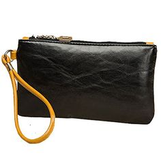 liangdongshop Womens Ladies Fashion PU Leather Clutch Bag Cell Phone Bag Wristlet Wallet Handbag