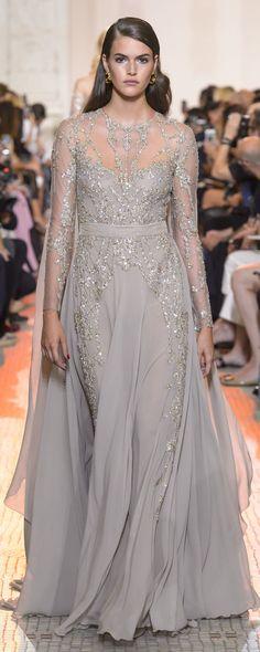 Elie Saab Fall 2017 Couture Fashion Show Ellie Saab, Elie Saab Couture, Gala Dresses, Couture Dresses, Style Couture, Couture Fashion, Beautiful Gowns, Beautiful Outfits, Fall Winter 2017