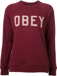Shop Obey 'Collegiate' sweatshirt in American Rag from the world's best independent boutiques at farfetch.com. Over 1000 designers from 300 boutiques in one website.