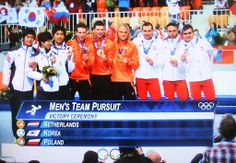 Olympics over, lots of great sport seen again. Winter Olympics 2014, Victorious, Poland, Korea, Dutch, Sports, Men, Heart, Hs Sports