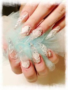 Day 363: Winter Wonder Nail Art http://www.nailsmag.com