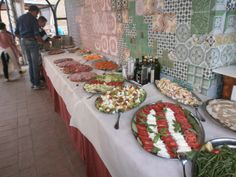 Great options for vegetarians #buffet #tuscanfood