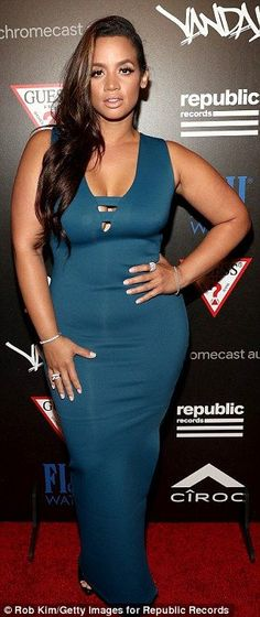 Much better! Also at the Republic Records afterparty was Orange Is the New…
