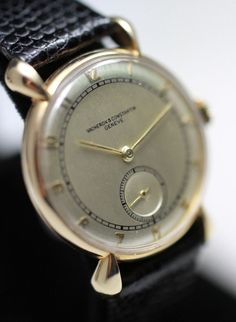 1939 Vacheron & Constantin 14K Solid Gold Vintage Watch from vintagewatches on Ruby Lane