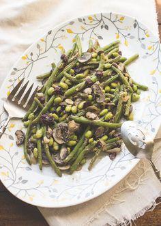 Vegan Miso Green Bean Casserole - The Adventures of MJ and Hungryman