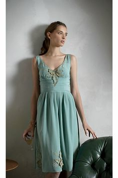 Anthropologie ~ this little bird has that dress!