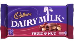Raisins and almonds sit at the core of Cadbury's Fruit and Nut bar that we have, for our whole lives enjoyed... Well, not anymore. Apparently Cadbury