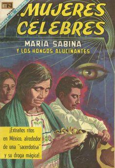HUAUTLA Maria Sabina illustration - Mujeres Celebres