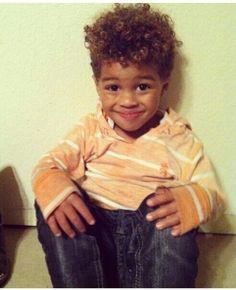 Mixed baby boy