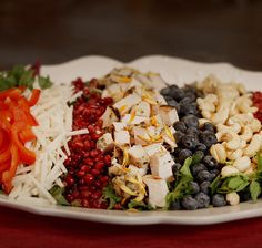 Red, White and Blue Salad with Chicken