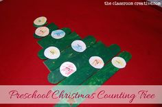 Christmas+art+projects+for+preschoolers | Preschool Christmas Tree Counting Activity