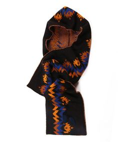 Take a look at this Black North American Hooded Scarf - Women by MUK LUKS on #zulily today!