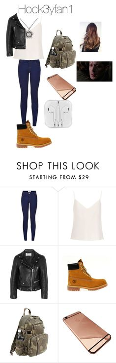 """""""Logan Winchester from Daughter of Dean Winchester"""" by emilylvmuncraft ❤ liked on Polyvore featuring Raey, Acne Studios, Timberland and Rothco"""