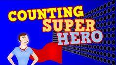counting superhero - YouTube