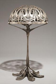 Table lamp by Paul Follot (1877-1941), Art Nouveau