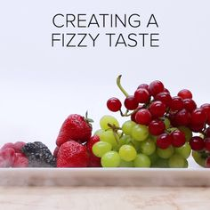 DIY Fizzy Fruit