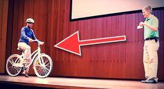 Det ser ut som en vanlig cykel, men ingen lyckas cykla på den. Anledningen är häpnadsväckande!