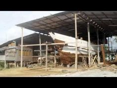 Building the Naga Pelangi, a Malay junk schooner