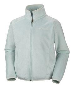 Another great find on #zulily! Skylight Pearl Plush Fleece Jacket - Girls #zulilyfinds