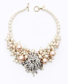 Gorgeous pearl and stone necklace, perfect for a high end boudoir session.