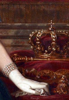 Isabella II, by Federico de Madrazo