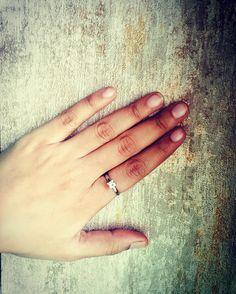 50 pointer princess cut diamond set in an elegant platinum setting! #jewelove #engagementring