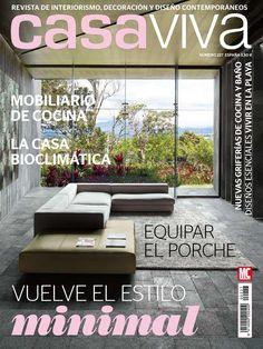 Revista #Casa Viva 227. Vuelve el estilo minimal. Mobiliario de cocina. La casa bioclimática.