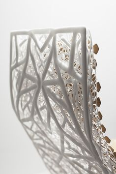 3D printed structures 'Shapes of Sweden' - Lilian van Daal, winner of the Volvo Design Challenge 2015.   Photography: Lisa Klappe