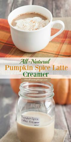 My Homemade All-Natural Pumpkin Spice Latte Creamer is just that—made from all natural-ingredients and can be made ahead and even frozen too! Pumpkin Spice Creamer, Pumpkin Spice Coffee, Spiced Coffee, Coffee Creamer, Fresh Pumpkin Recipes, Best Pumpkin Pie, Homemade Pumpkin Puree, Cocoa Recipes, Hot Chocolate Recipes