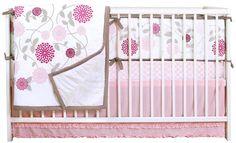 JJ Cole Sweet Primrose 4-Piece Crib Bedding Set - Best Price