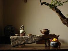 Stone plate for Chinese traditional tea Wabi Sabi, Chinese Tea Room, Zen Tea, Asian Tea, Tea Lounge, Tea Culture, Chinese Furniture, Tea Tray, Tea Ceremony