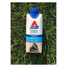 Atkins Cookie & Creme Protein Rich Shake Atkins, Shake, Protein, First Time Moms, Workout Gear, Self Improvement, Fitness Fashion, Lifestyle Blog, Creme