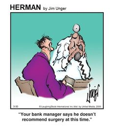 Herman Cartoon, Herman Comic, Cartoon Jokes, Funny Cartoons, Laughter, Haha, Funny Stuff, Comedy, Medicine