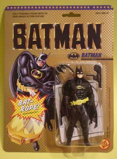 I remember getting this from Santa and thinking it didn't look a thing like Michael Keaton.