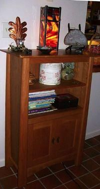 Customized Cherry Bookcase
