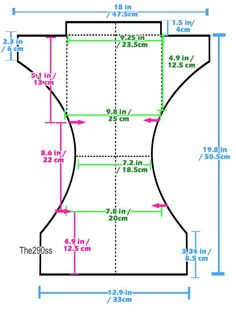 The290ss: Tutorial: Sewing Cloth Diapers (One Size Pocket Diapers)