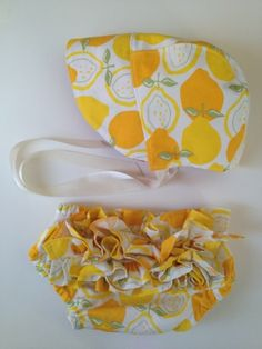 Coconut Love: Sewing For Baby Girls - Summer Bonnet And Ruffly Diaper Covers