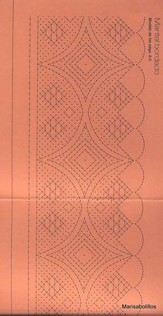 Archivo de álbumes Irish Crochet, Crochet Motif, Crochet Lace, Bobbin Lacemaking, Bobbin Lace Patterns, Quilt Border, Needle Lace, Lace Making, Lace Design