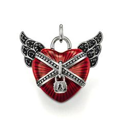 Thomas Sabo Red Heart Pendant PE388-041-10