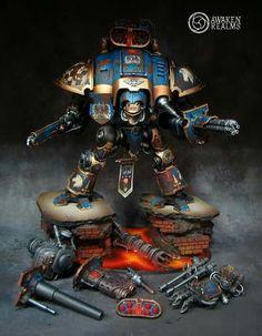 Imperial knight warden #wh40k #warhammer40k #gamesworkshop #wellofeternity #40k…