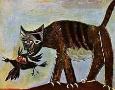 * Cat catching a bird 1939 - Pablo Picasso (1881–1973)