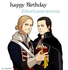 [Assassin's creed ] Happy birthday Edward kenway! by ellsy1220 on DeviantArt