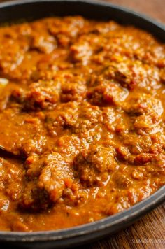 Heavenly Bombay Beef Curry - tender pieces of beef in a delicious aromatic curry sauce and can be cooking stove top or in an Instant Pot. Curry Recipes, Meat Recipes, Food Processor Recipes, Cooking Recipes, Healthy Recipes, Meatball Recipes, Indian Beef Recipes, Asian Recipes, Food Porn