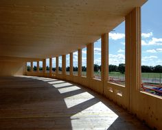 Open Academy, built from KLH cross laminated timber panels